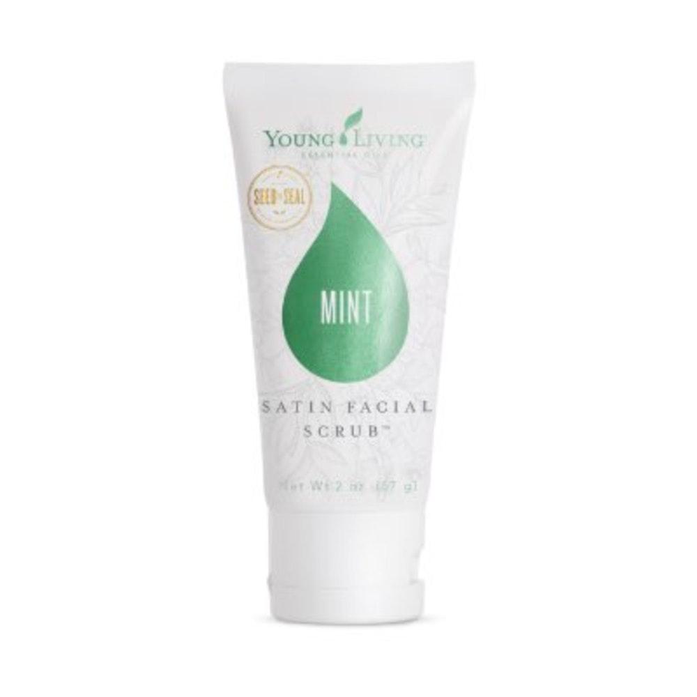 Satin Facial Scrub Mint