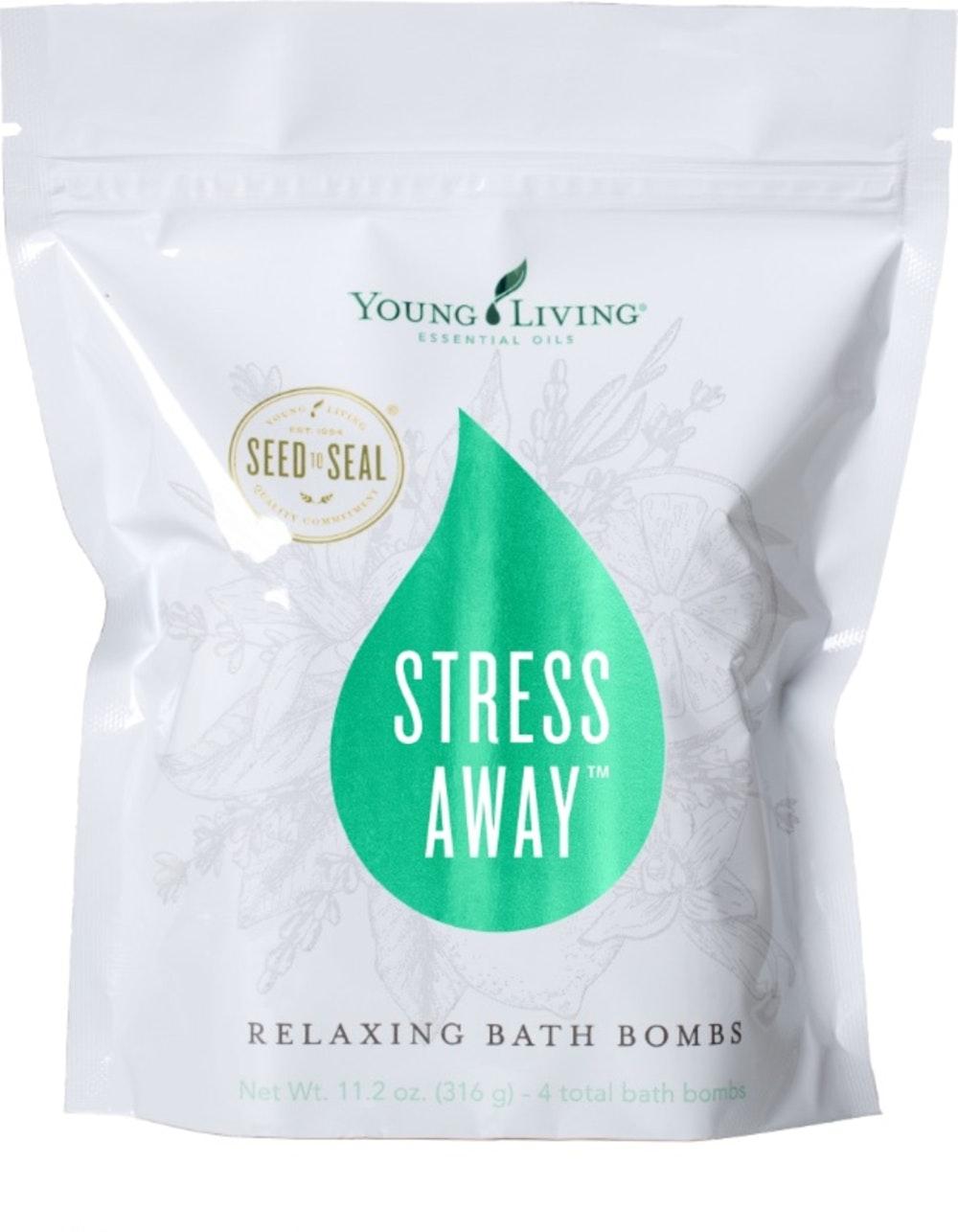 Stress Away Relaxing Bath Bombs