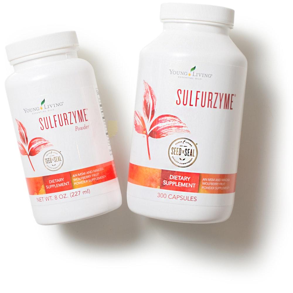 Sulfurzyme Capsules or Powder