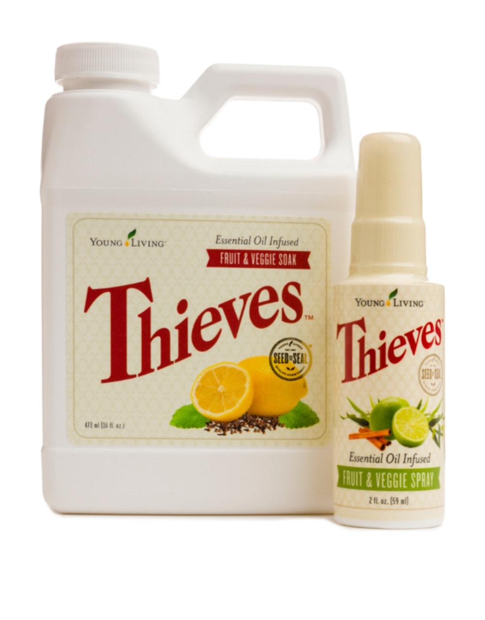Thieves Fruit & Veggie Soak and Spray
